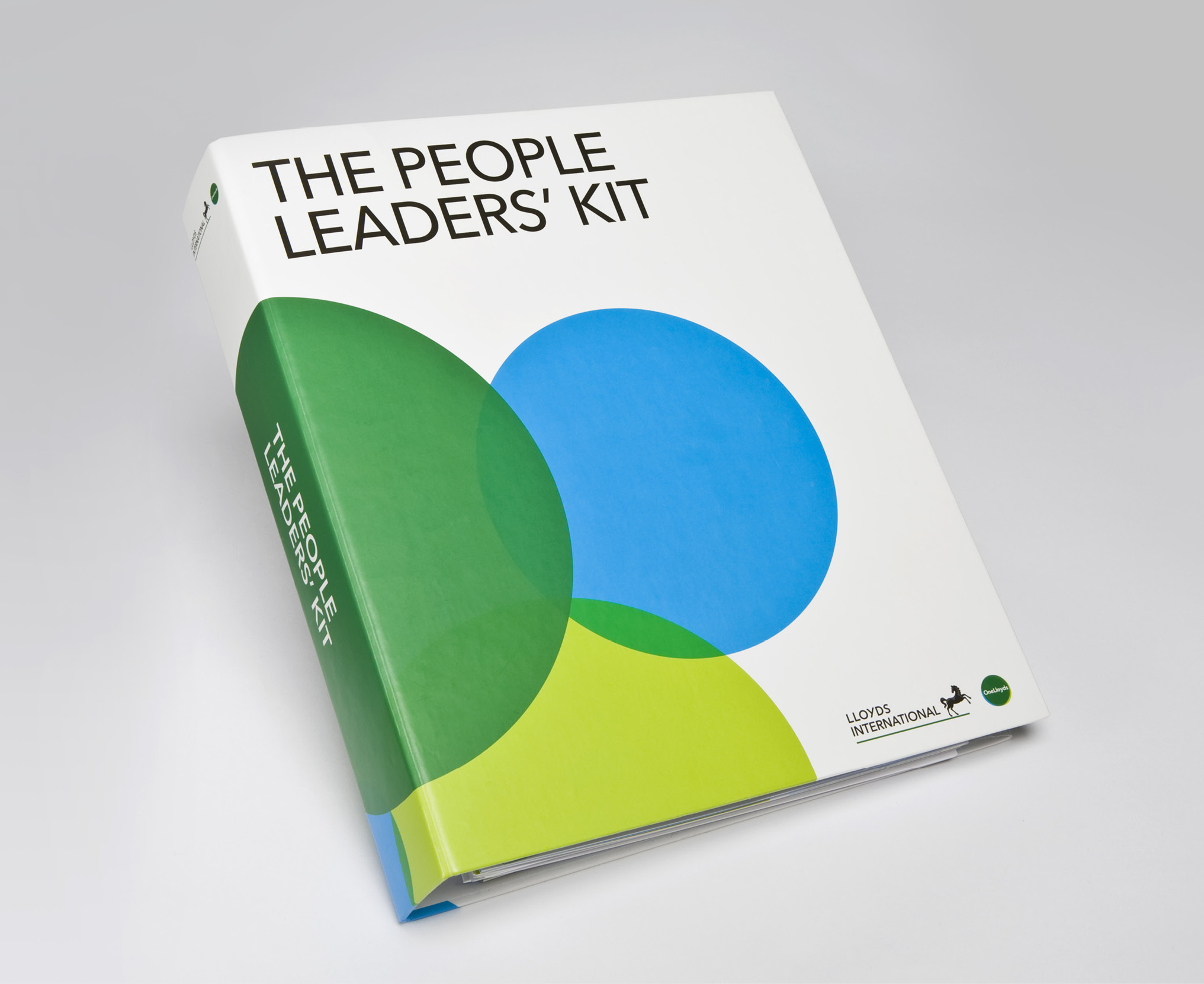 One Lloyds The People Leaders Kit A4 binder