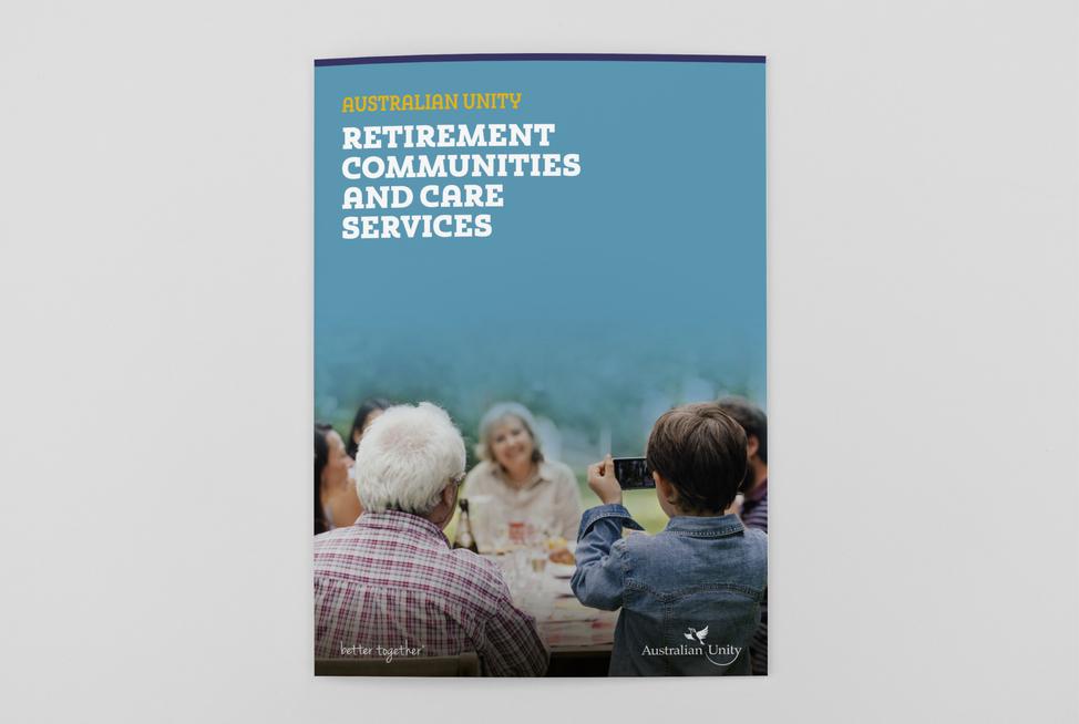 Australian Unity Retirement Services Village Brochure (cover)