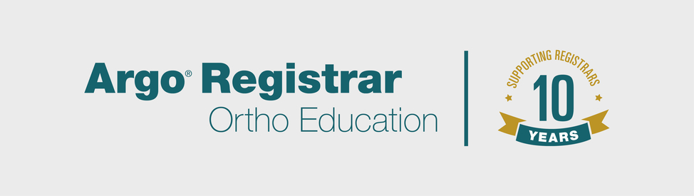 Argo Registrars Education Program logo