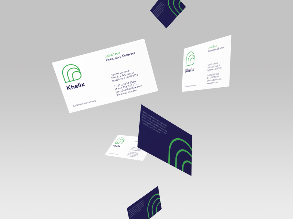 Khelix business cards
