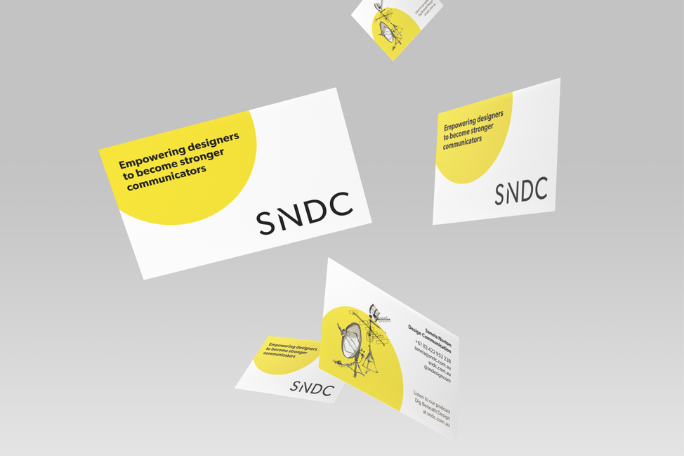 SNDC business cards