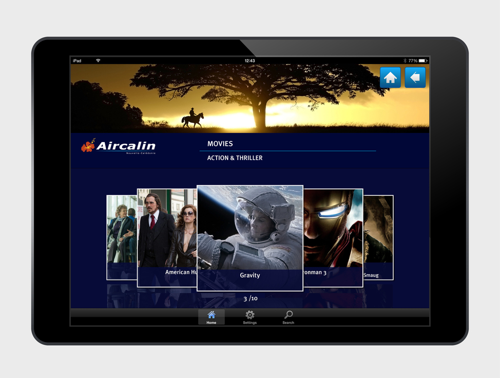 ACI IFE GUI screen designs (Board Connect - Tablet)