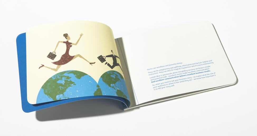 Loulaki Blue brochure inside spread 2